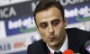 Dimitar Berbatov attends a news conference in Sofia